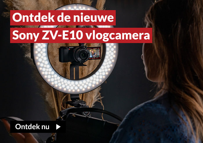 Ontdek de nieuwe Sony ZV-E10