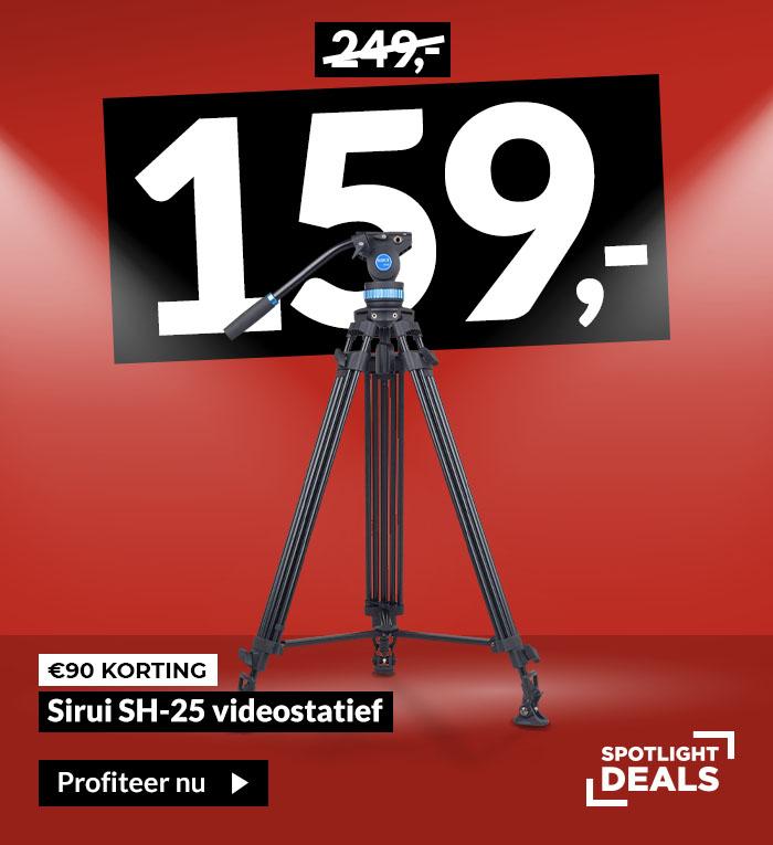Spotlightdeal Sirui SH-25 videostatief