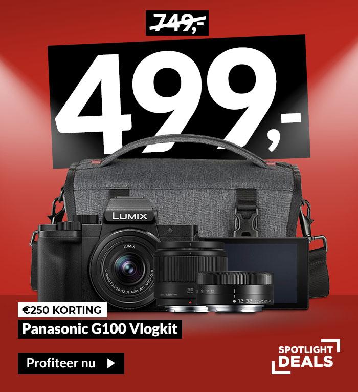 Panasonic Lumix DC-G100 Vlogkit