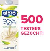 Alpro - 500 testers gezocht