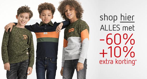 Shop hier ALLES met -60% +10% extra korting!*