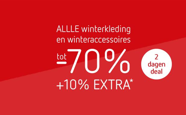 Tot -70% +10% EXTRA op alle sale
