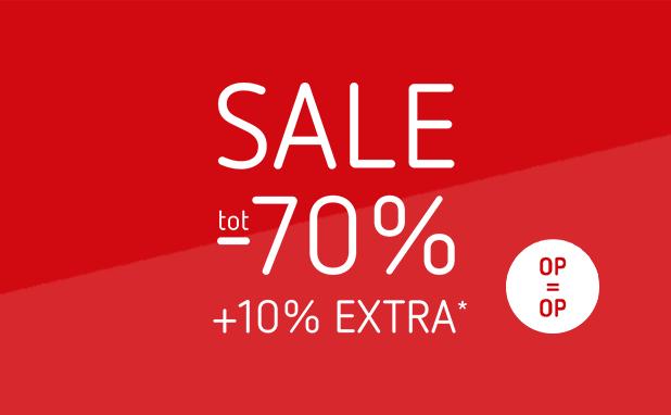 Sale! Alle zomerkleding tot -70%
