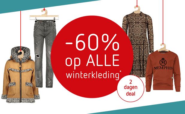 2 dagen deal: ALLE winterkleding -60%!*