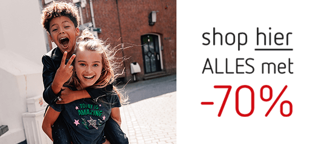 Shop hier alles -70%!
