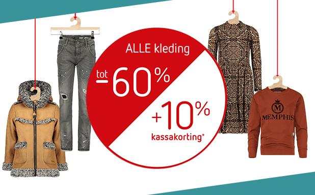 SALE! Tot -60% + 10% EXTRA* op ALLE winterkleding!