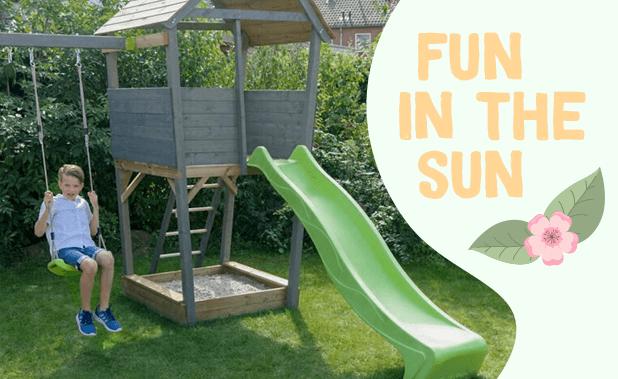 Fun in de sun met buitenspeelgoed