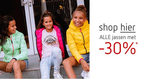 Shop hier alle jassen met -30%!*