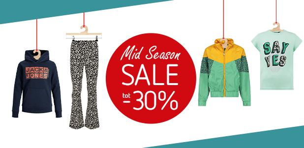 Mid Season Sale! Tot -30%!