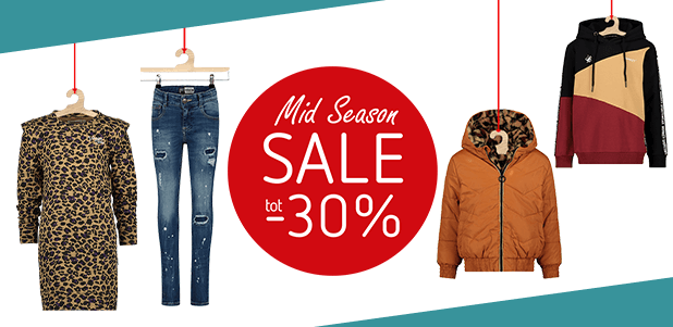 mid season sale tot 30% korting