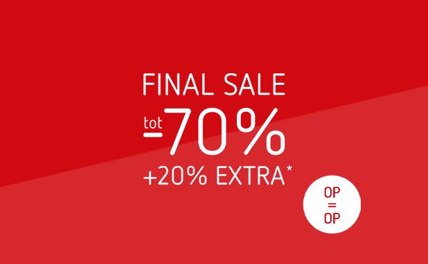 Final sale! Alle zomerkleding tot -70%
