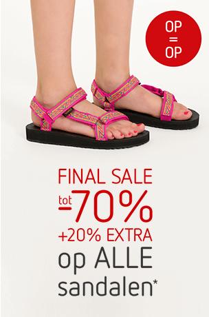 final sale sandalen