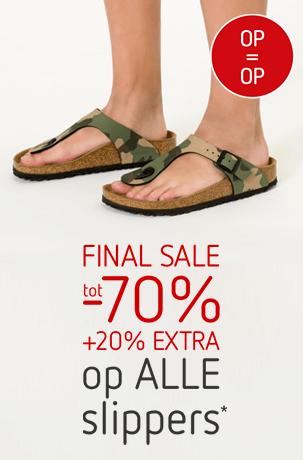 final sale slippers