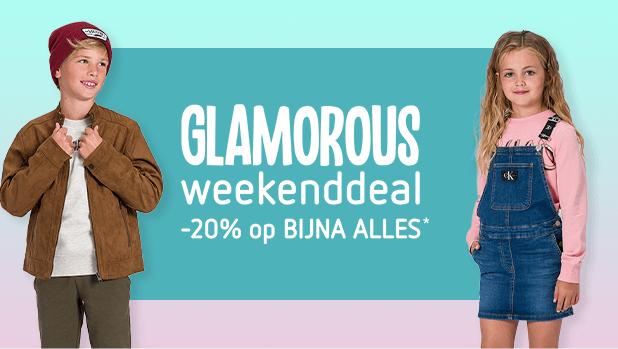 Glamorous weekenddeal: -20% op bijna ALLES!*