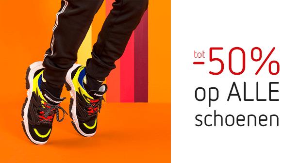 Alle schoenen met kortingen tot -50%