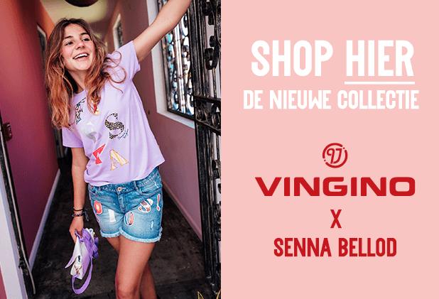 Shop nu de nieuwe collectie van Vingino x Senna Bellod