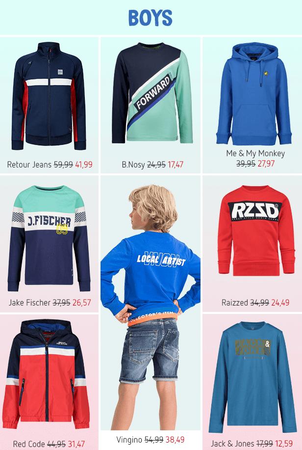Shop nu de leukste items voor boys!