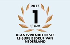 Klantvriendelijkste Leisure Bedrijf van Nederland