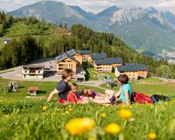 Vakantie in de bergen