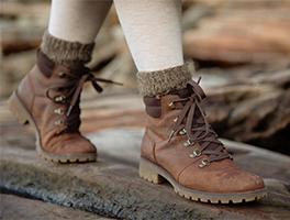Pak uw <br>wandelschoenen