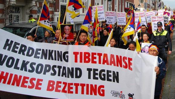 Kom op voor vrijheid in Tibet!