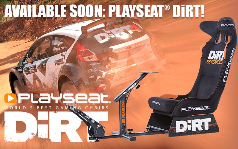 Available soon: Playseat® DiRT!