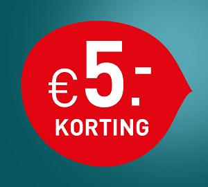 €5 shopkorting voor jou - Image