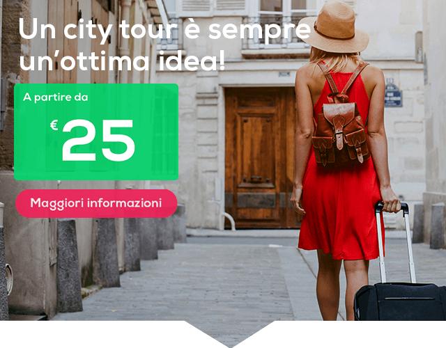 Hai bisogno di staccare un po' la spina? Un city tour è sempre un'ottima idea!