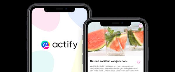 Gezond het voorjaar door met Actify