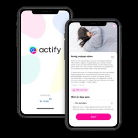 Slaap lekker met Actify